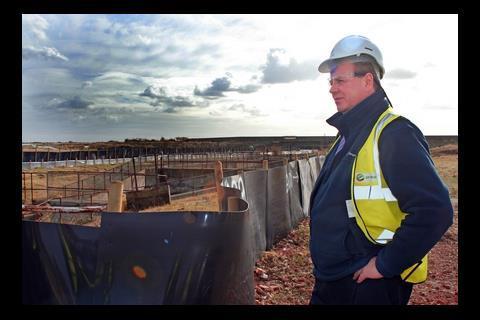 Marcus Pearson, environmental manager, London Gateway